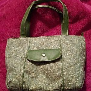 Liz Claiborne Bags - Liz Claiborne purse w/ shinny gold